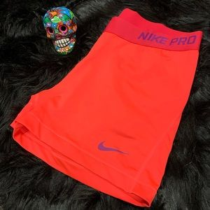 Nike pro dri-fit compression shorts women's Sz XL